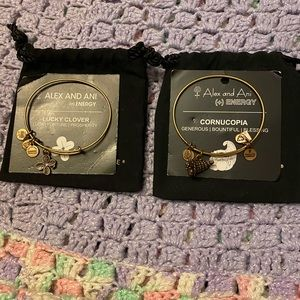 Two for the price of one! Alex and ani bracelets!